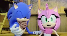 In This Spoiler We Have A SonAmy Moment Here!!!!!! So Excited!
