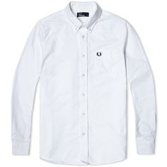 Fred Perry Classic Oxford Shirt (White)