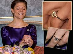 Princess Victoria engagement ring