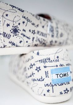 What is your inspiration? Shop the shoes that inspired the TOMS movement.