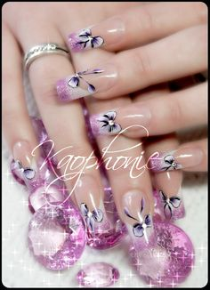 Decorative knots #nail #nails #nailart