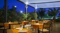 "Oliveto"" A` la carte restaurant by night - Hotel Maestral #lagunanovigrad #Novigrad #Istria #Croatia"
