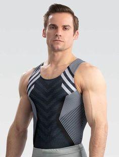 Boys Gymnastics, Gymnastics Shirts, Gymnastics Competition, Gymnastics Poses, Gym Tank Tops, Men's Tanks, Male Gymnast, Sexy Men, Sexy Guys