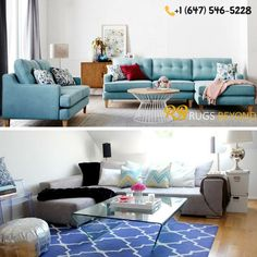 Rugs Beyond offers a stunning and vibrant range of Area Rugs in Mississauga,Brampton And Vaughan. We have a wide collection of floor coverings & Home furnishings to make your home elegant and charming. Sofa, Couch, Rug Store, Home Furnishings, Area Rugs, Flooring, Furniture, Home Decor, Settee