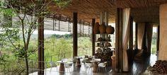 Singita Lebombo Lodge Main Area
