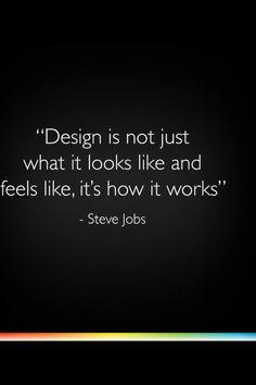 By Steve Jobs.......