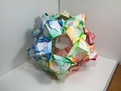 【Modular Origami】じぐざぐすけA30枚組【ユニット折り紙】16 - YouTube