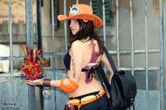 Portgas D Ace (Ann) One Piece Italian Cosplayer Nicla Burresi Nic Chan Nic Chwan Italy