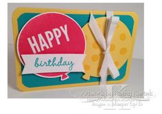 inspiration... Celebrate Today Gift Card Holder (Closed) by kkrab5 - Cards and Paper Crafts at Splitcoaststampers