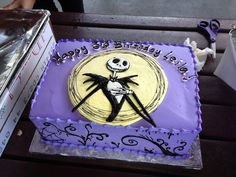 jack skellington edible cake topper