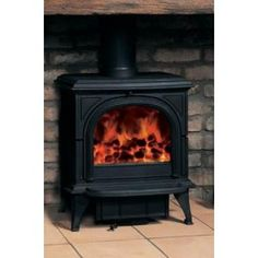 Stovax Huntingdon 30 Stove with Clear Door