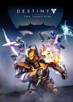 Destiny The Taken King Poster