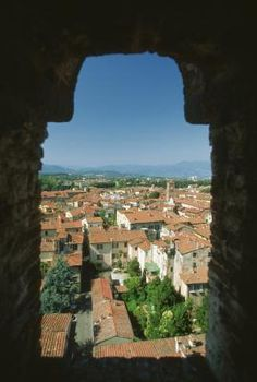 Lucca, an ancient Tuscan city with pre-Etruscan roots and medieval notoriety, is one of Tuscany's most popular tourist cities with its medieval city wall, tree-topped watch tower, ancient Roman ... I want to go back!!!