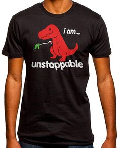 Amazon.com: Unstoppable T-Rex T-Shirt (3XL): Clothing