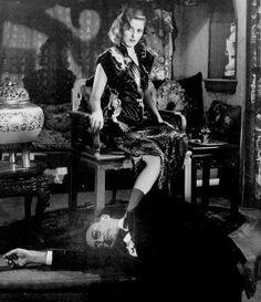 """Martha Vickers, """"The Big Sleep"""" 1946"""