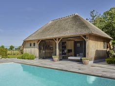Poolhouse in eik VG | Bogarden