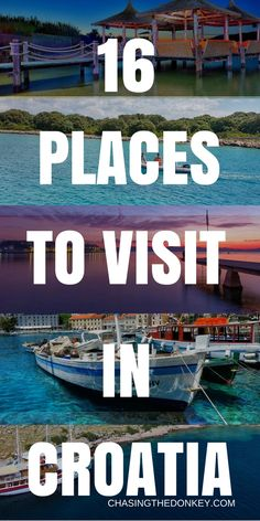 Where to go in Croatia: 16 Remarkable Croatian Stops Not to be Missed Backpacking Europe, Europe Travel Guide, Us Travel, Family Travel, Travel Guides, Funny Travel, Beach Travel, Cool Places To Visit, Places To Travel
