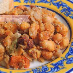 Patatas Guisadas, Risotto, Coco, Shrimp, Salsa, Meat, Legumes, Dishes, Meals