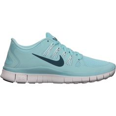 Nike Free 5.0+ Women's Running Shoe ($80) ❤ liked on Polyvore featuring shoes, athletic shoes, sneakers, nike, sport, workout, sport shoes, mesh shoes, lightweight running shoes and sports running shoes