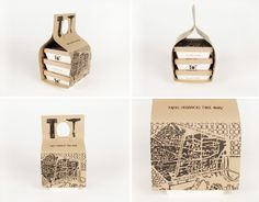 """Designed by Gloria Kelly , student of Elisava, Barcelona/ Spain . Take-Away Packaging for """"Organic Tapas"""". The """"Tapas"""" are part of the i. Takeaway Packaging, Cool Packaging, Food Packaging Design, Packaging Design Inspiration, Brand Packaging, Packaging Ideas, Salad Packaging, Biodegradable Packaging, Biodegradable Products"""