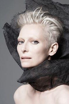 Tilda Swinton: New Face Of Nars Cosmetics (Vogue.co.uk)