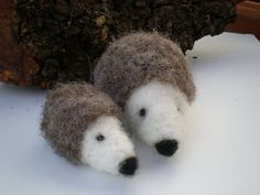 Felt animals Waldorf inspired, needle felted woodland decoration, felted animal,b-day party favor, kids best friend, delicate eco toy, cute