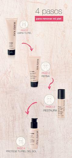#AmoDespertarMiBelleza con el Sistema de Microexfoliación Timewise™ para renovar mi piel y brillar cada día.  http://www.marykay.com.co/ama-despertar