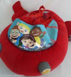 little einsteins halloween costume pat pat rocket red disney plush s m 4 5 6 7