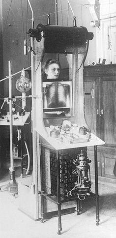 erste Röntgenbilder