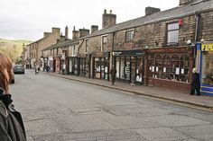 Shopping in Ramsbottom: we could spend on of our local days going to charity shops in quaint Ramsbottom, there's also a craft store that has yarn and crochet hooks . Places In England, Christmas Travel, Charity Shop, Bury, Crochet Hooks, Brighton, Wales, Manchester, Places Ive Been