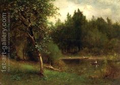 River Landscape by George Inness