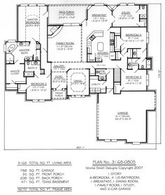 Ideal House Layout hawaii house plans | 660 per plan free shipping for stock house