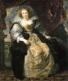 Hélène Fourment in Her Bridal Gown by Peter Paul Rubens, ca 1630 (Belgium?), Alte Pinakothek Rubens married Hélène Fourment in 1630, four years after the death of his first wife.  Hélène was 16 and he was 53.
