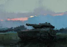 Painting from studies, Steve Wang on ArtStation at https://www.artstation.com/artwork/256la