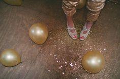 gold shoe ideas