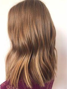 Blonde + Brunette combo. Hair by SALON by milk + honey stylist, Krystal S.