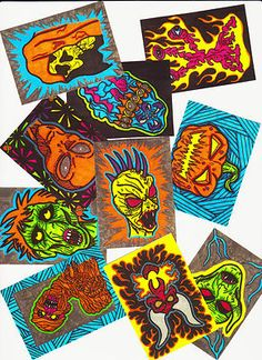"""ACEO """"Ultimate Halloween Horror Collection"""""""