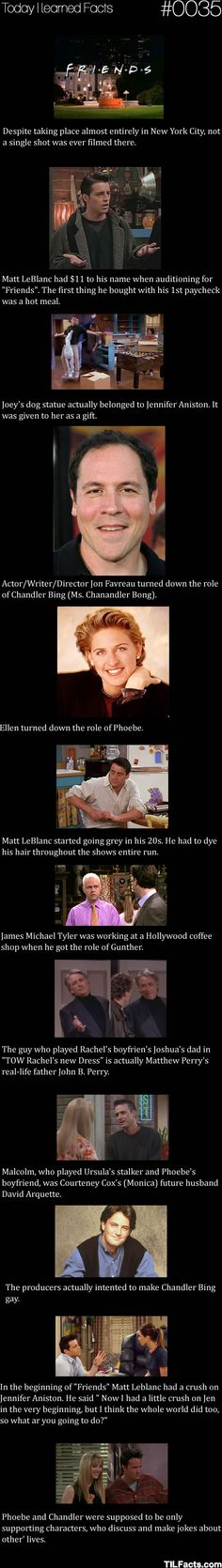 Interesting facts for 'Friends' fans...