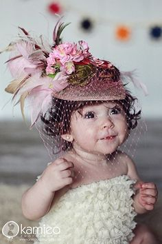 Perfect Tea Party Hat for the Birthday girl Charity