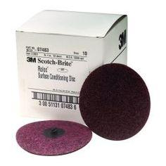 """4"""""""""""""""" Medium Scotch Brite Roloc Surface Conditioning Discs"""