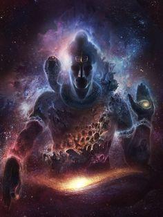 Cosmic Shiva. #Shiva #shiv #hindu #art
