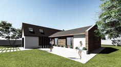 Proiect casa parter (150 mp) - Berna