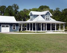 Plan W44097TD: Country, Beach, Vacation, Photo Gallery, Low Country House Plans & Home Designs