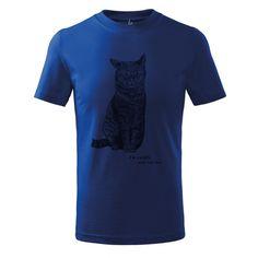 Koszulka młodzieżowa. Grafika kotek - I,m cuddly...and cat too Youth t-Shirt. Ink drawing - cat cuddly