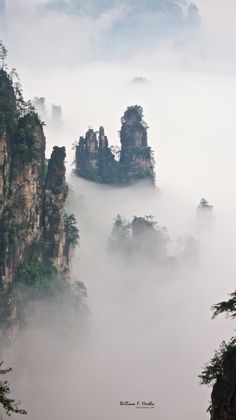 Tianzi Mountains, China   6 most amazing places in the world