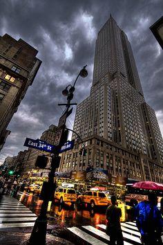 Empire State Building HDR by DavidCornejo