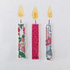 Embroidered Candle Party Time Card by Pins and Needles, the perfect gift for Explore more unique gifts in our curated marketplace. Fabric Cards, Fabric Postcards, Paper Cards, Embroidery Cards, Free Motion Embroidery, Embroidery Fabric, Embroidery Ideas, Christmas Cards Handmade Kids, Handmade Birthday Cards