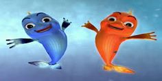 Bilu and Mela the story of two fish. Find their funny stories on Youtube Bilu Mela