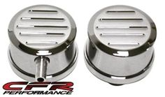 This set includes one push-in style ball milled polished billet aluminum breather with PCV tube, one push-in standard style ball milled polished billet aluminum breather. The PCV breather is designed with a replaceable PCV valve and Mopar, Hot Rods, Chevy, Engine, Ford, Muscle, Accessories, Products, Motor Engine