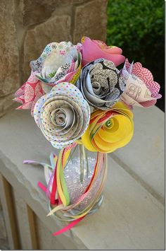 Sketchbook_Rolled Paper Flower Boquet (23)